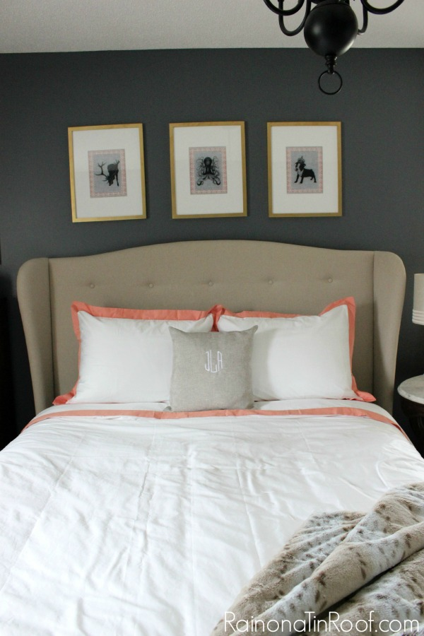 Wall Decor For Master Bedrooms : Master bedroom ideas for a mini makeover