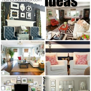 20+ Living Room Ideas (The one room I always struggle with)