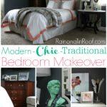 Master Bedroom Ideas {A Mini-Makeover} via RainonaTinRoof.com #masterbedroom #bedroom #makeover #homedecor #interiordesign