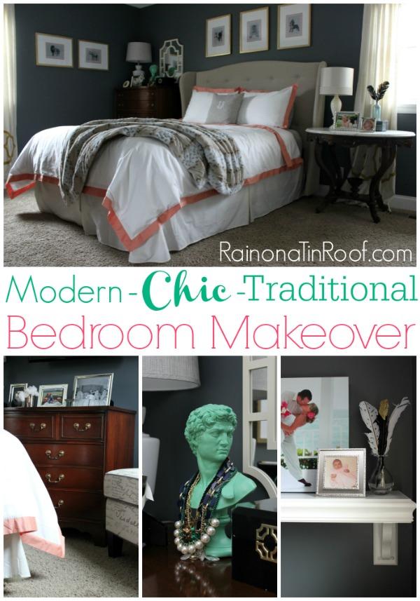 Master Bedroom Ideas  A Mini Makeover  via RainonaTinRoof com   masterbedroom. Master Bedroom Ideas for a Mini Makeover