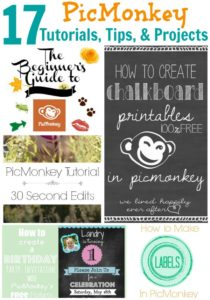 17+ PicMonkey Tutorials, Tips, and Projects
