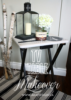 TV Table Makeover AKA DESIGN thumbnail
