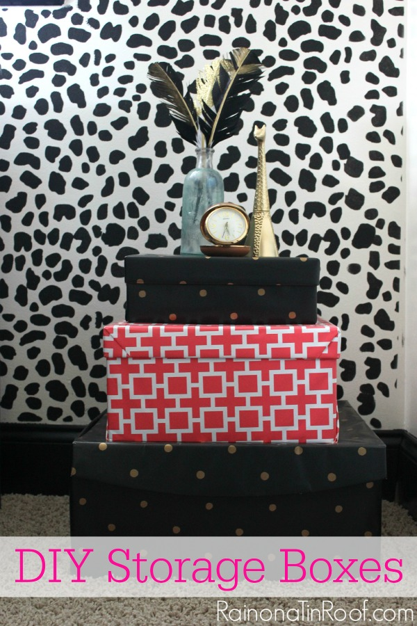 DIY Decorative Storage Containers {Trash to Treasure}