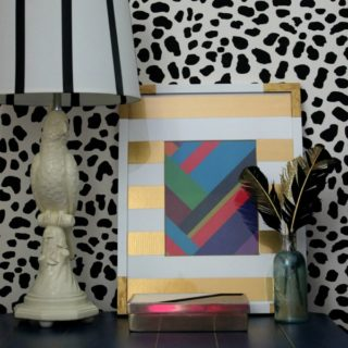 DIY Wall Decor with a Gift Bag