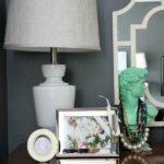 Mini Makeover Idea: Switch Up Your Lamps via RainonaTinRoof.com #lamp #masterbedroom #kenroyhome