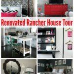 Ranch Style House Tour via RainonaTinRoof.com #ranchhouse #housetour #renovation #rancher