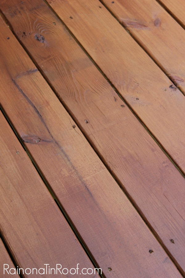 Staining pressure treated wood for Brown treated deck boards