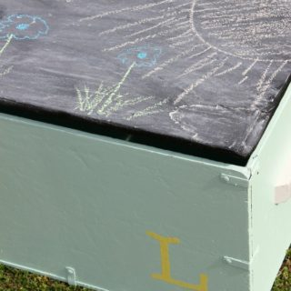 Army Locker turned Toy Box