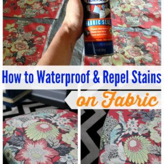 How to Waterproof & Repel Stains on Fabric