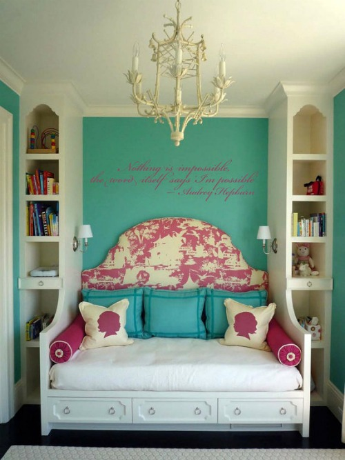 14 Real Life Bedroom Ideas Anyone Can Do - decorate your bedroom around your favorite icon.