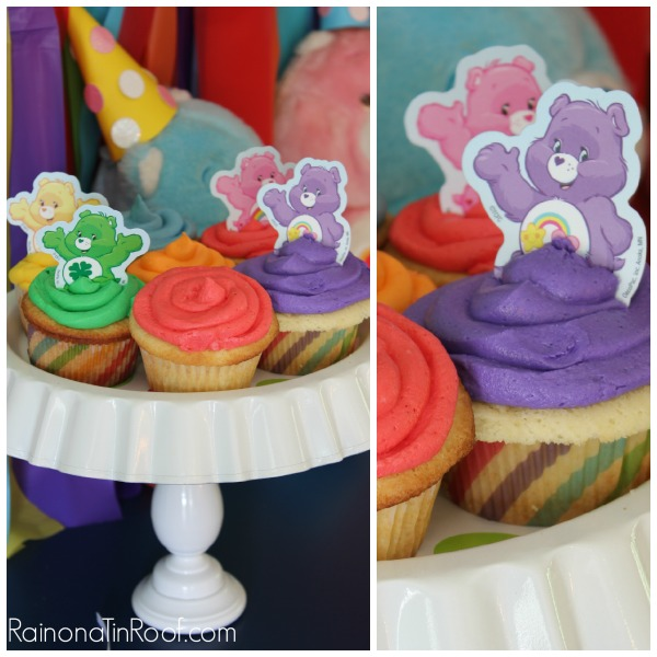 Care Bear and Rainbow Party via RainonaTinRoof.com #rainbow #party #kids #carebears #diy #partydecor