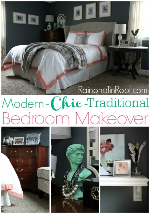 14 Real Life Bedroom Ideas Anyone Can Do - a mini-makeover