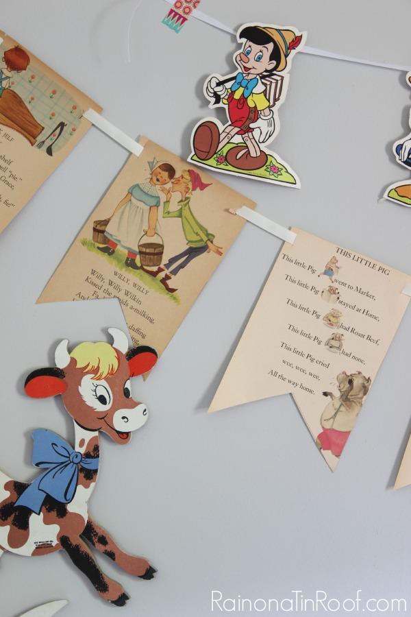 Nursery Ideas that won't break the bank via RainonaTinRoof.com #nurseryideas #nursery #diy