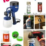 My 10 Favorite Products & Tools for DIY Projects via RainonaTinRoof.com #diy