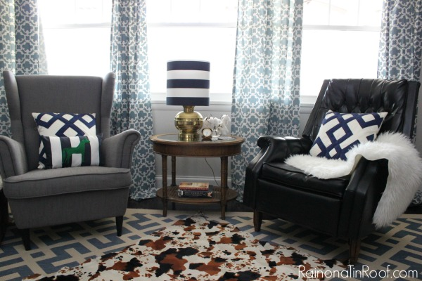 Creating A Rustic Living Room Decor: Creating A Meaningful Home: Rain On A Tin Roof