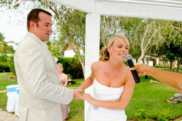 The first words uttered to me by Grunt Labor on Our Wedding Day via RainonaTinRoof.com