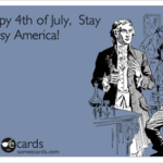 That time I shut down the 4th of July Parade Momentarily via RainonaTinRoof.com
