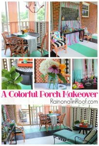 Screened-In Porch Makeover: Because I like to drink cheap beer in colorful places…