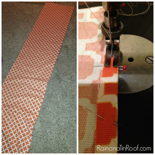 DIY Floating Curtain Panels via RainonaTinRoof.com #curtains #drapery #diy #fabric #ad #onlinefabricstore #porch