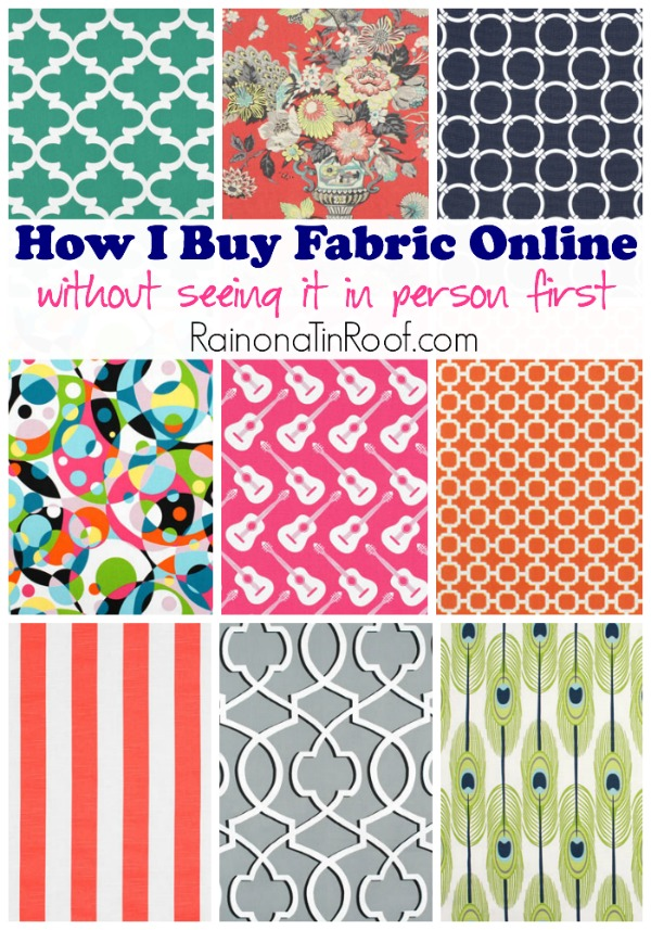 How I Buy Fabric Online (Without Seeing It In Person First)