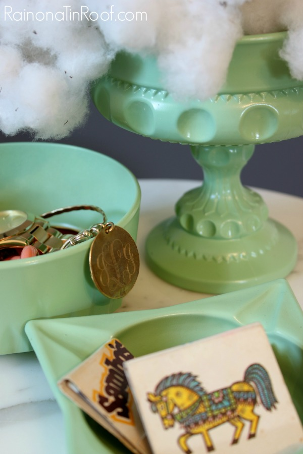 DIY Faux Jadeite from thrift store finds | Jadeite Dishes | DIY Jadeite | Thrift Store : jadeite dinnerware - pezcame.com