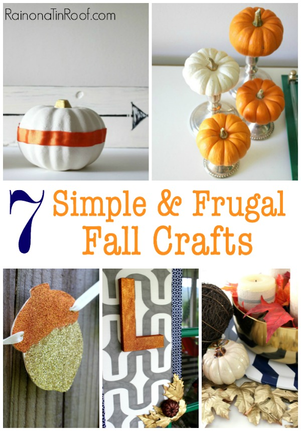 7 simple and frugal fall crafts decorating ideas for Fall diy crafts pinterest