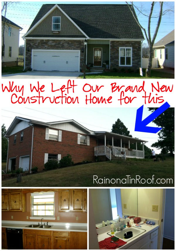 Why we left our brand new construction home for a 70 39 s rancher for 70s house exterior makeover