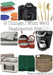 9 Things I Wish We'd Registered For (And What No One Should be Without) via RainonaTInRoof.com
