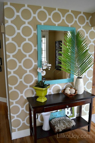Here Are 9 Accent Walls For 30 Or