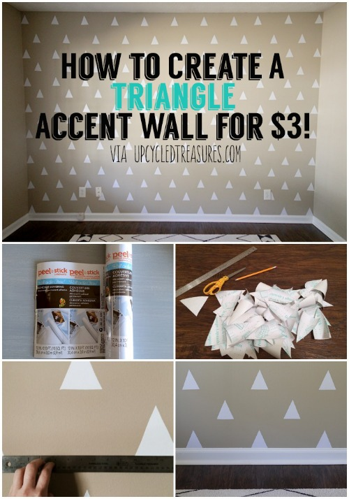 Modern Accent Wall Idea