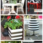 14 Black and White DIY Projects for Any Space via RainonaTinRoof.com