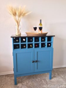 IKEA Tarva Hack: Drink Bar Cabinet