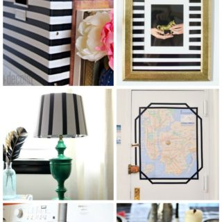7 Super Simple, Super Cute Electrical Tape Crafts