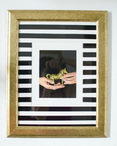Electrical Tape Crafts: Electrical Tape Embellished Frame