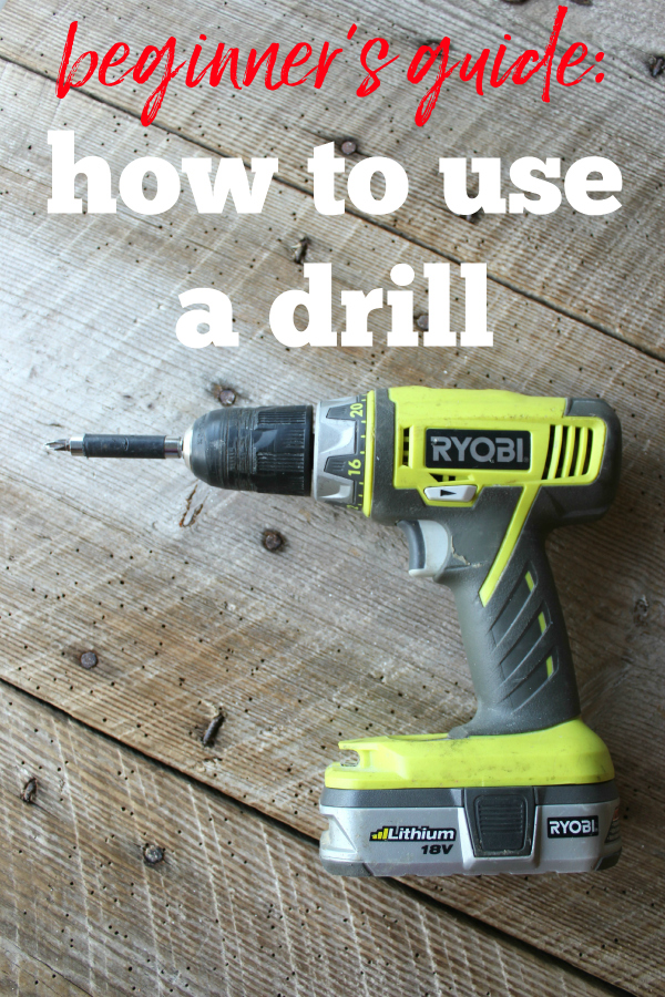 Beginner's Guide on How to Use a Drill and What All It Can Do - Rain on a Tin Roof