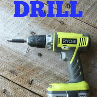 How to Use a Drill - Basics and Instructions on Drills - Rain on a Tin Roof