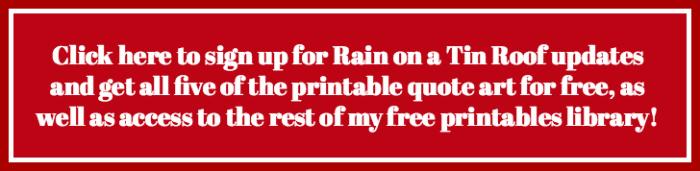 Free Printable Quote Art