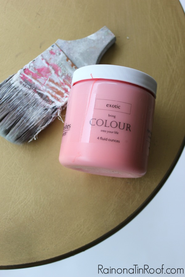Must try this paint! It looks amazing and has beautiful results! The No Priming, No Topcoat, Way to Paint (Seriously, I'm not even kidding.) via RainonaTinRoof.com