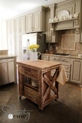 AWESOME IDEAS   Dressers Turned Island, Build Your Own Island, And More! 7