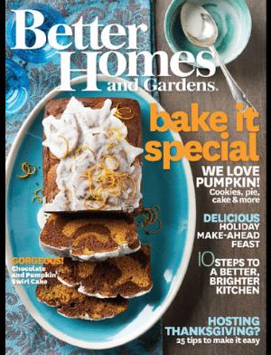 Better Homes & Gardens November 2014