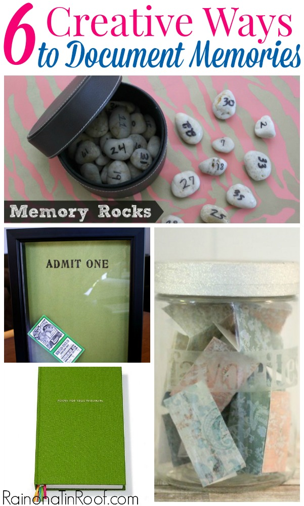 6 Creative and Easy Ways to Document Memories