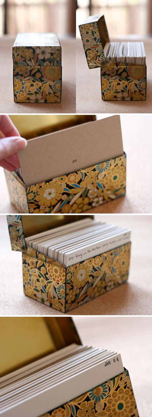 AWESOME ways to remember stuff! And super easy and cheap! 6 Creative and Easy Ways to Document Memories via RainonaTinRoof.com