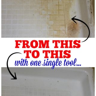 Clean that Disgustingly Gross Shower with One Single Tool