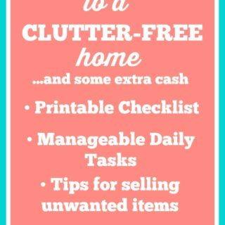 15 Days to a Clutter-Free Home…And Some Extra Cash