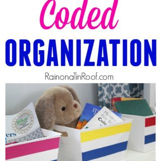 Color Coded Organization