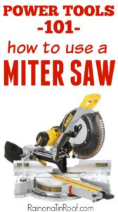 The basics - exactly what it can do and how to do it. Power Tools 101 - How to Use a Miter Saw
