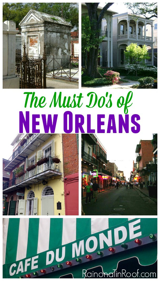 Must Do: Must Do's In New Orleans