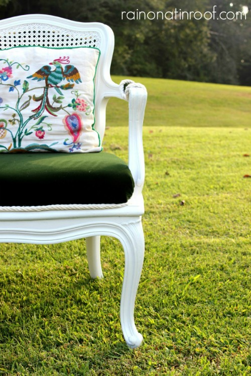 French Country Chair BEFORE
