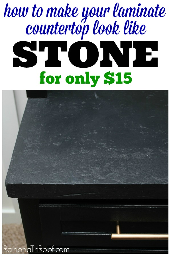 Not Only Is It Cheap, But This Countertop Makeover Is EASY!