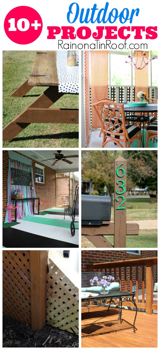 DIY Outdoor Projects | Outdoor Furniture Plans | Flower Pot Ideas | Outdoor Furniture Makeovers | Tips for Growing Flowers | Outdoor Decor